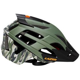 Lazer Oasiz Cykelhjälm grön/svart